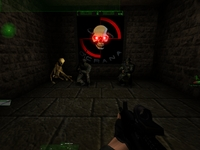 Easter egg in RTNP. Just got a Quake 1 flashback. ;)
